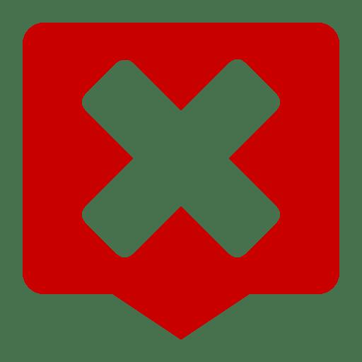 Status dialog error symbolic icon
