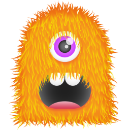 Orange Monster icon