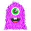 Purple-Monster icon