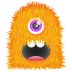 Orange-Monster icon