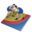 Wrestling greco roman icon