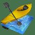 Kayak-slalom icon