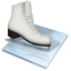 Figure-skating icon