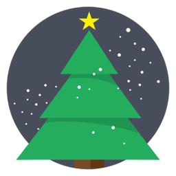 Bilderesultat for christmas tree icon