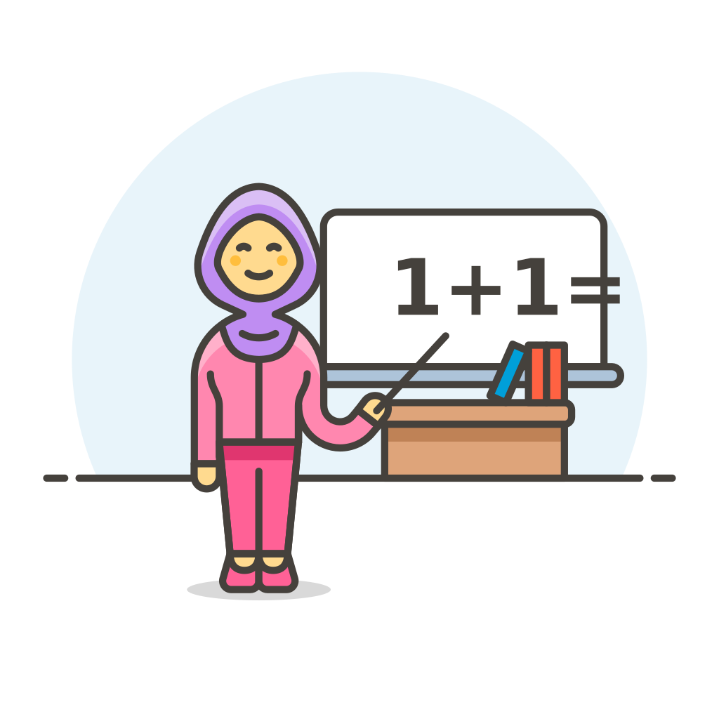 Teacher maths female Icon | Streamline UX Free Iconset | Streamline ...
