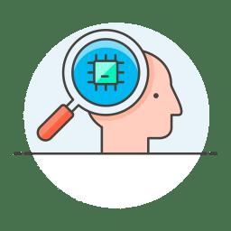 Chip head icon