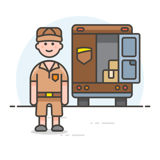 Delivery-truck icon