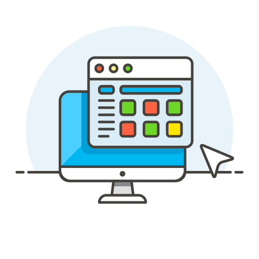 Monitor-window icon