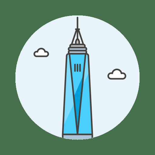 One world trade center icon