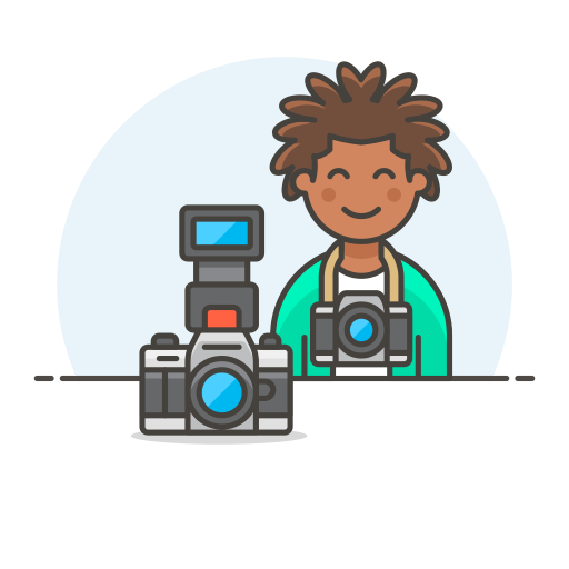 Photographer-male icon