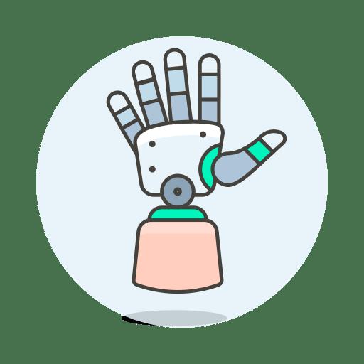 Robot-hand icon