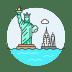 Statue-of-liberty icon