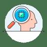 Chip-head icon