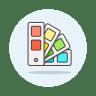 Color-palette icon