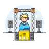 Dj-booth icon