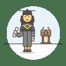 Graduate-female icon