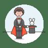 Magician-male icon