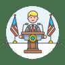 Public-speaker icon