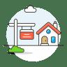 Real-estate-house icon