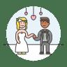 Wedding-couple icon
