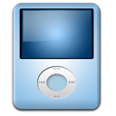 iPod Nano Baby Blue icon