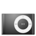 iPod Shuffle Black icon