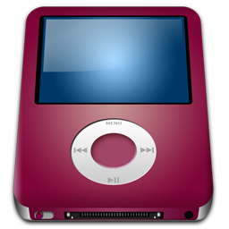 iPod Nano Red alt icon