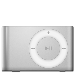 iPod Shuffle Silver icon