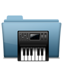 Folder-Music-alt icon