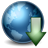 Earth-Download icon