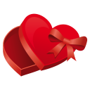 Heart case icon
