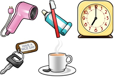 Retro Wake Up Icons
