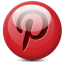 Pinterest 1 icon