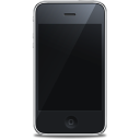 iPhone front black icon