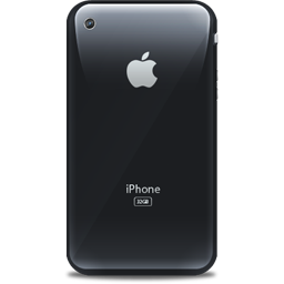 iPhone retro black icon