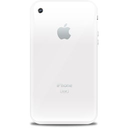 iPhone retro white icon