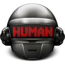 Daft Punk Thomas Human icon