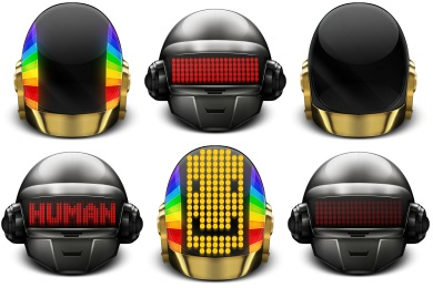Daft Punk Icons