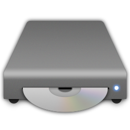 cd drive full icon