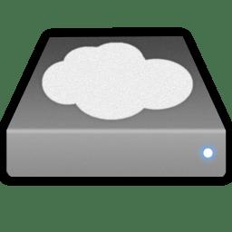 Cloud hd icon