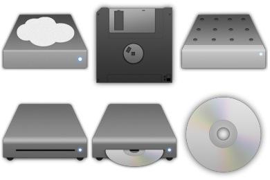Storage Icons