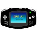 Gameboy-Advance-black icon