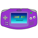 Gameboy-Advance-purple icon