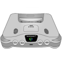 Nintendo 64 silver icon