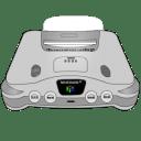 Nintendo 64 silver icon