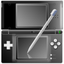 Nintendo-DS-with-pen-Black icon