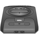 Sega Genesis gray icon