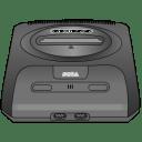Sega Genesis gray icon