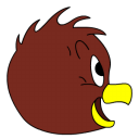 Henery Hawk side view icon
