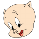 Porky-posing icon
